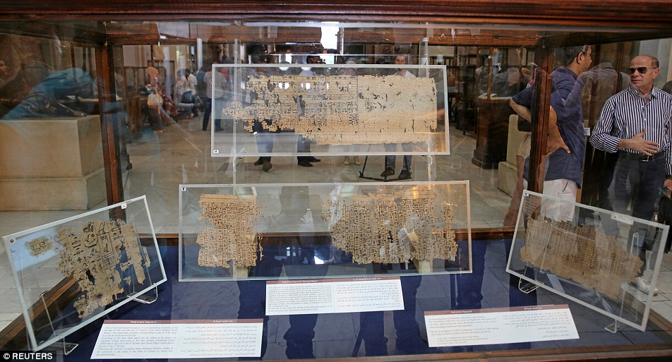 36459D1F00000578-3692283-The items display are the oldest papyruses in Egypt-a-6 1468599822136